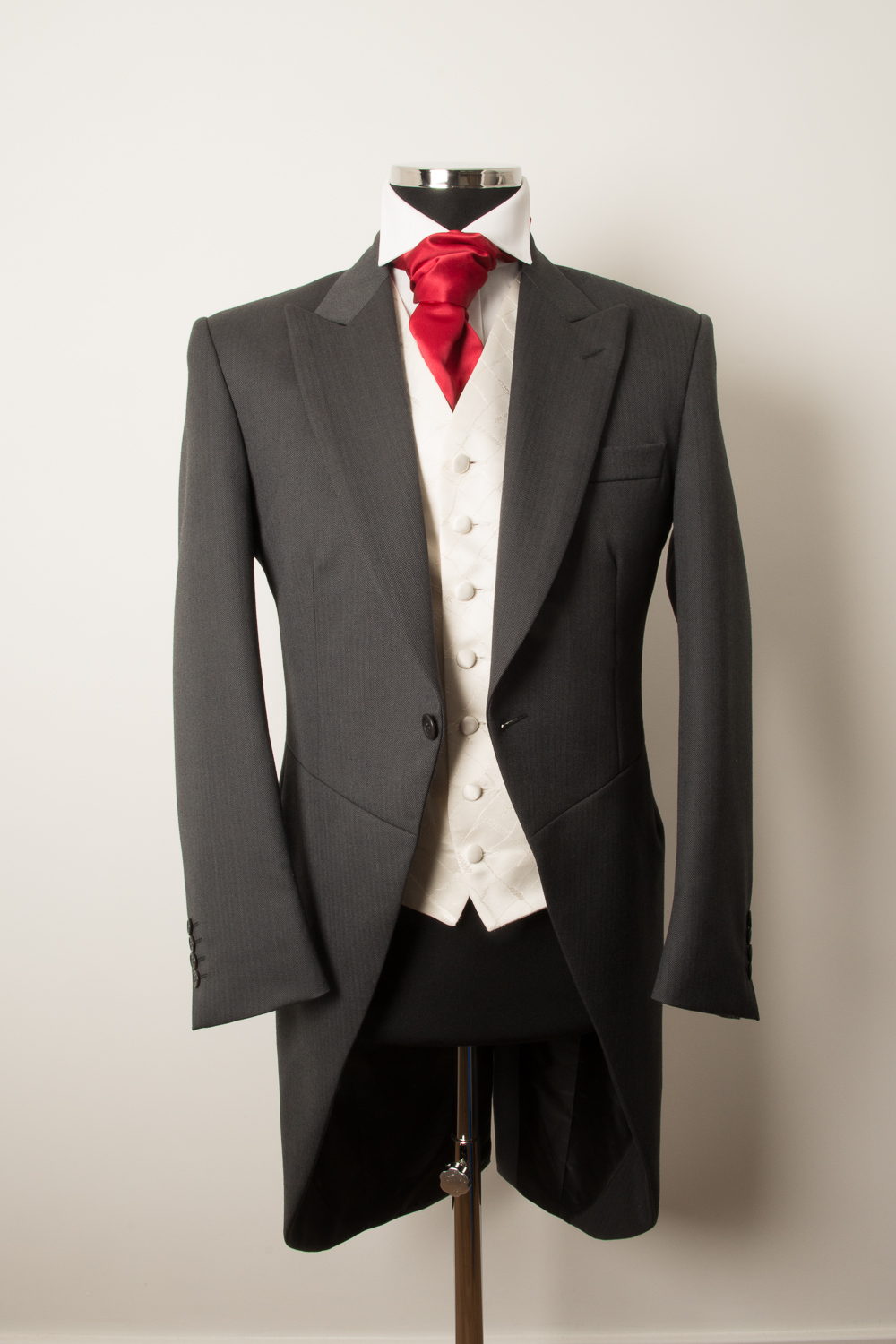 GREY TAILCOAT - WEDDING