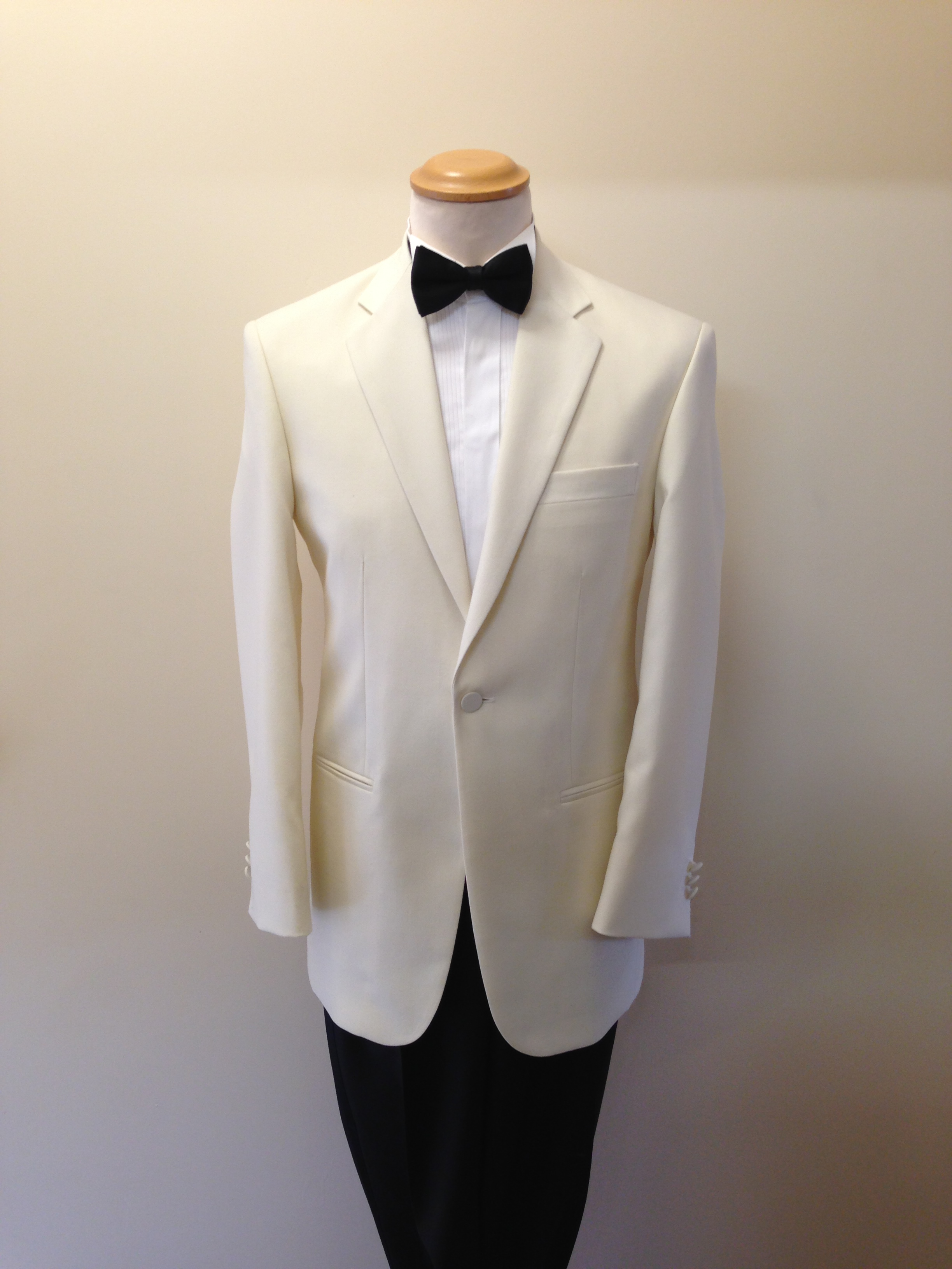 Cream Dinner Suit - Fogarty