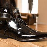 Black Patent Leather Shoes, perfect to complete the look for your wedding day or special occasion. £39.95 each to buy. Available in Sizes - 6 - 11