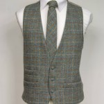 Green Harris Tweed