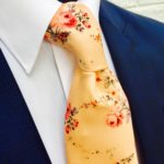Tea-Rose-Vintage-Floral-Peach-Tie-and-Handkerchief